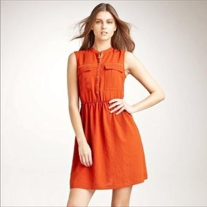 Burberry Brit Arabelle Burnto Orange Dress